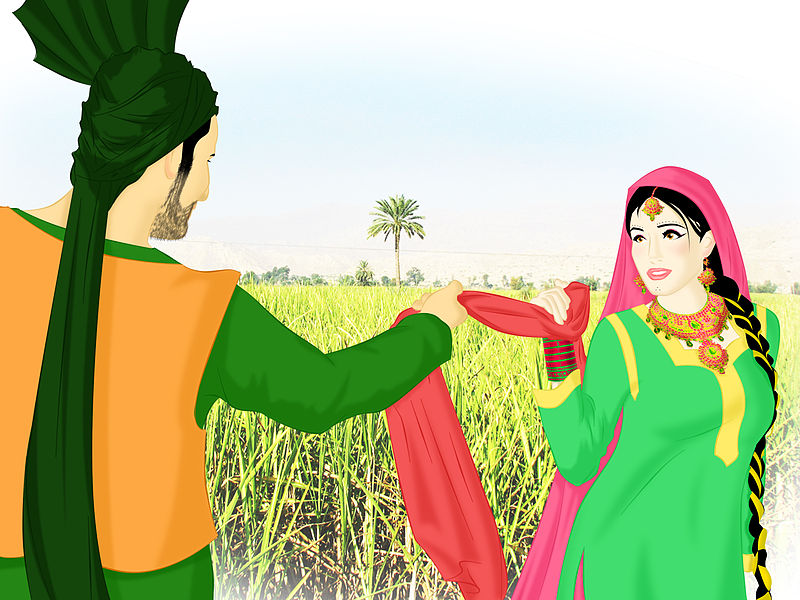 File:Punjabi Couple.jpg