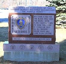 purple heart memorial westland michigan