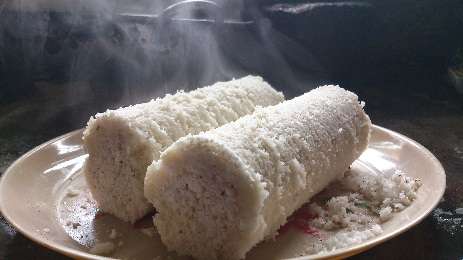 Steamed Layered Rice Cake