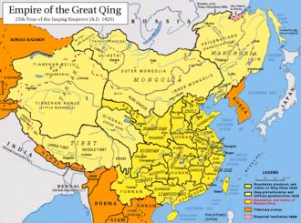 Zhili - Image: Qing Dynasty 1820