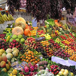 Φρούτα και λαχανικά, πηγές βιταμινών