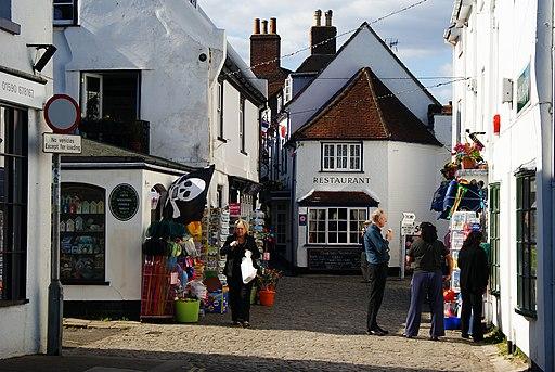 Quay Street, Lymington, Hampshire - geograph.org.uk - 1800247