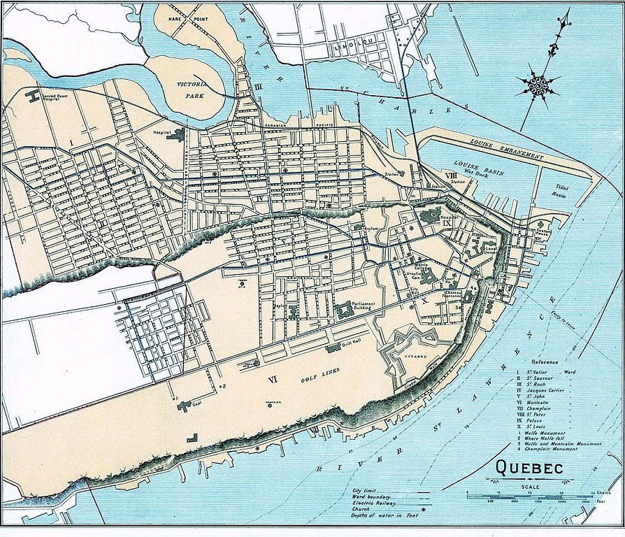 File quebec city map wikimedia commons for City of la 457