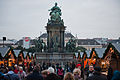 Queen Maria Theresia Monument. Vienna, Austria, Western Europe.jpg