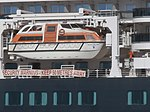 Queen Victoria Lifeboat 9 Port of Tallinn 5 May 2019.jpg
