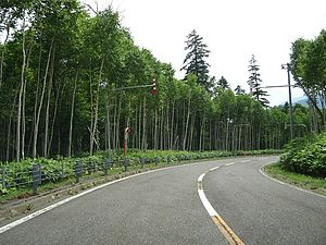 Japan National Route 333 - Image: R333 kitami pass 01