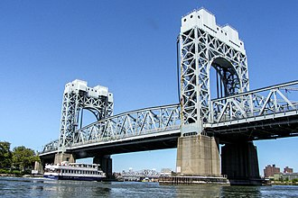 Triborough Bridge - Manhattan lift bridge over the Harlem River