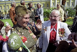 2001 Moscow Victory Day Parade - Image: RIAN archive 786806 Victory Day