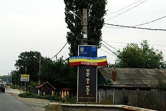 Coșereni - Image: RO IL DN2 Cosereni