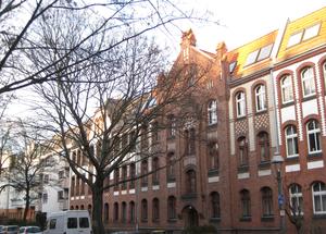 Borsigwalde - Historical facades along Räuschstraße