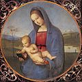 Raffaello Sanzio - Madonna with the Book (Conestabile Madonna) - WGA18629.jpg