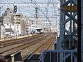 Railway platform from Keihan Takii and Doi in Sembayashi IMG 0950 20130203.JPG