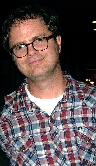Picture of an author: Rainn Wilson