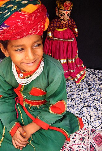 Puppetry - Puppeteer from Rajasthan (India)