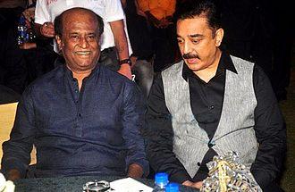 Kamal Haasan - Kamal with Rajinikanth