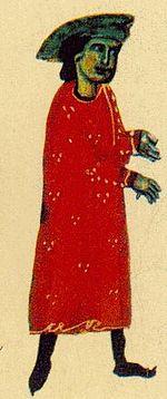 Extrait d'un recueil de chansons de troubadoursBNF, Manuscrits Français 854.