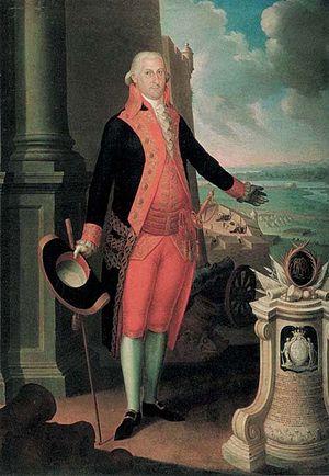 Military history of Puerto Rico - Brigadier General Ramón de Castro