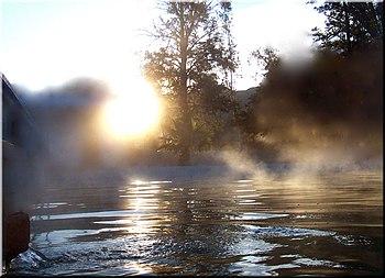 Ranchoaguacalientespringwater