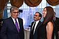 Randa Kassis with Kassym-Jomart Tokayev, President of Kazakhstan and Fabien Baussart, president of the think tank Center of Political and Foreign Affairs.jpg