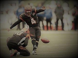 Randy Bullock American football placekicker