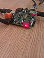 Raspberry Pi board at TransferSummit 2011.jpg