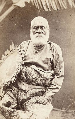 Ratu Cakobau taken August 1869 a