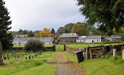 Ravenstonedale Village, Cumbria, view south from St Oswald's Church