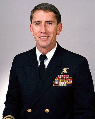 Raymond C. Smith - Rear Admiral Raymond C. Smith, 1992
