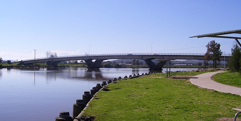 Fitzgerald Bridge over the Williams River at Raymond Terrace
