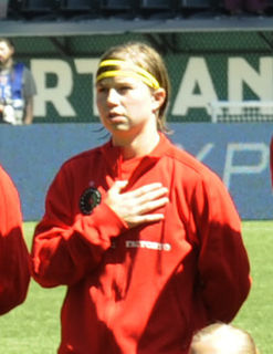 Rebecca Moros National Womens Soccer League defender and former US national team member