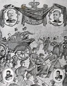 …a República prestes a derrubar a Monarquia, partes I, II e III
