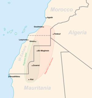 Reguibat tribe Nomadic Sahrawi tribe of Sanhaja-Berber origins