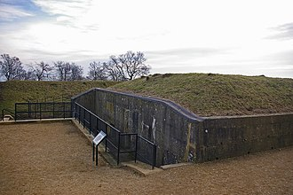 London Defence Positions - Magazine at Reigate Fort in 2009