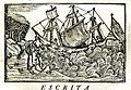 Relação da viagem, e Naufragio da nao S. Paulo... de que era capitão Ruy de Mello da Camera... Henrique Dias.1560, Lisboa 1735.jpg
