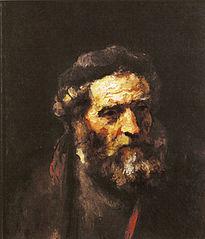 Head of a Bearded Old Man