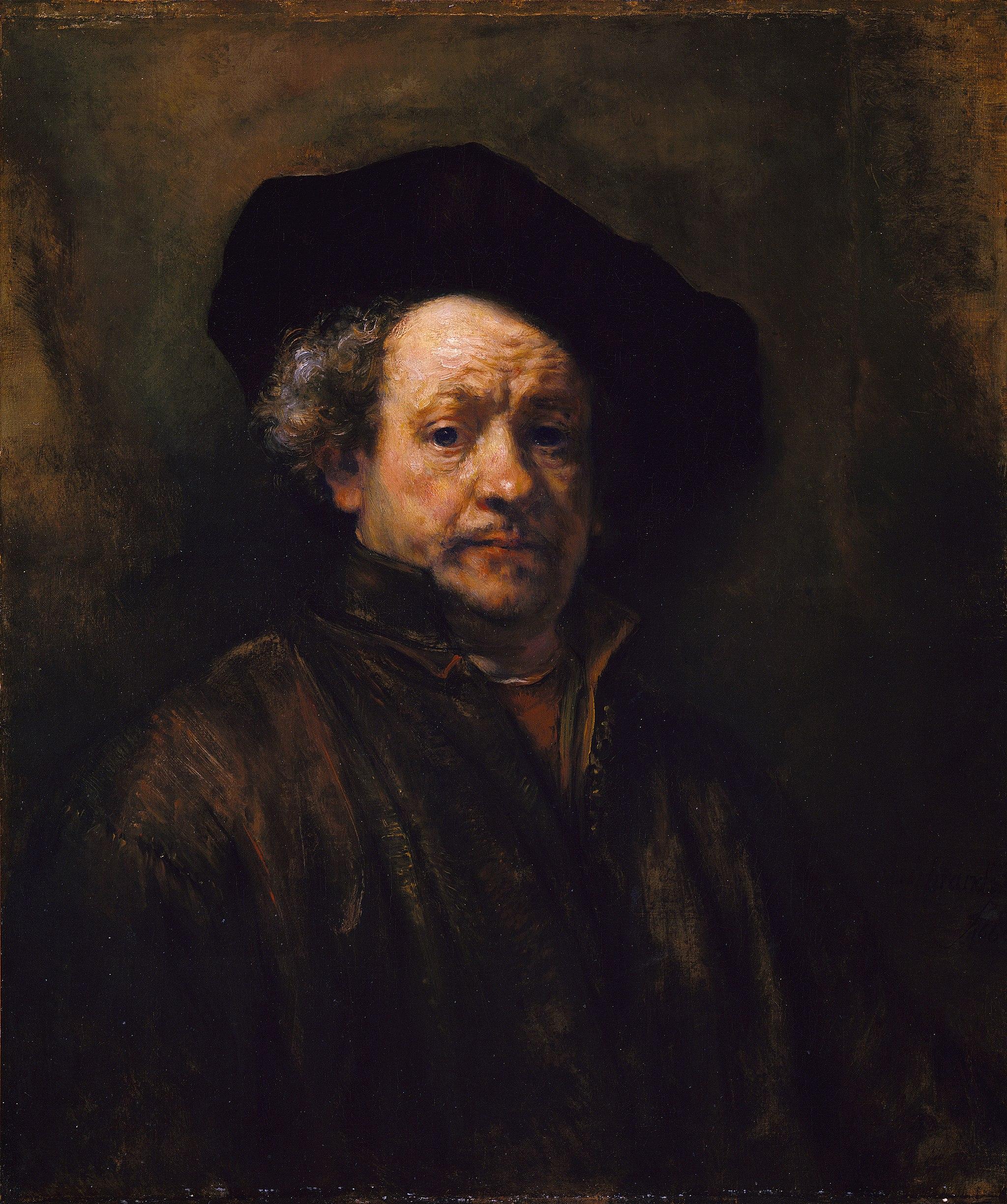Rembrant Self-Portrait, 1660