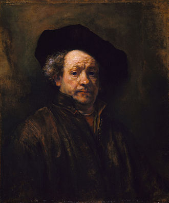 1660 in art - Rembrandt Self Portrait