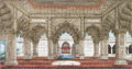 Reminiscences of Imperial Delhi The interior of the Diwan-i-Khas.PNG