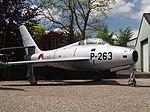 Republic F-84F Thunderstreak Royal Dutch Air Force P-263 pic1.JPG
