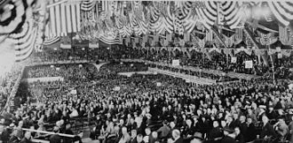 1920 Republican National Convention - Inside the convention hall