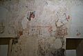 Restes de pintures murals al dormitori del convent del Carme, València.JPG