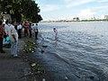 Returning After Immersion Of Asthi Into River Ganga - Ramkrishnapur Ghat - Howrah 20170627160510.jpg