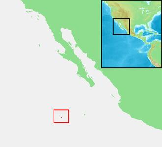Clarion Island - Image: Revillagigedo Islands Clarión