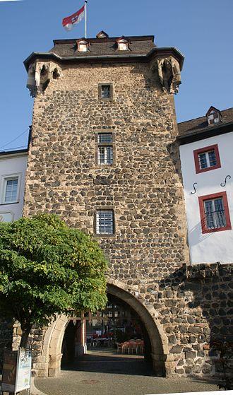Linz am Rhein - Image: Rheintor Linz am Rhein