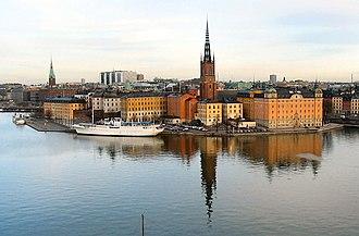 Södermalm (borough) - Image: Riddarholmen islet, Stockholm