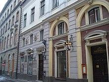 Erhaltene Fassade des Rigaer Theaters zu Kreutzers Zeit (Quelle: Wikimedia)