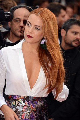Riley Keough au festival de Cannes 2014