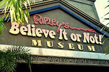 ripley s believe it or not wikipedia