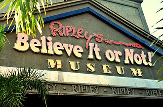 Ripley's Believe It or Not! - Ripley's Believe It Or Not museum at Innovative Film City in Bangalore, India.