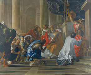 Raymond de Saint Gilles prenant la croix